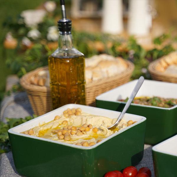 Kaloukfood - Vorspeisensalate & Pasten